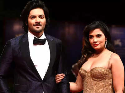 Richa moves in with beau Ali Fazal