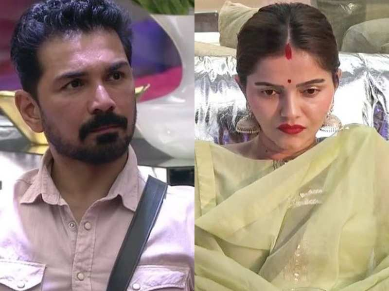 Bigg Boss 14: Rubina Dilaik asks husband Abhinav to shut up and listen to her as they discuss nomination