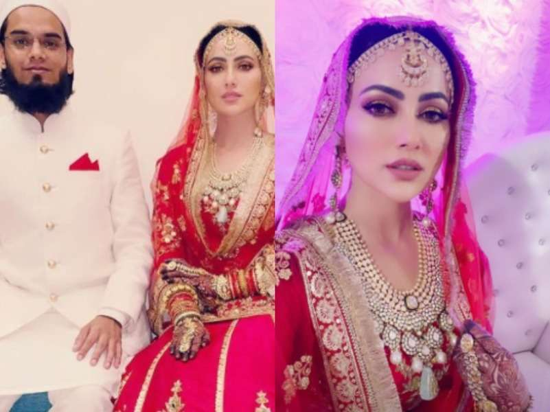 Sana Khan changes name to Sayied Sana Khan post marriage
