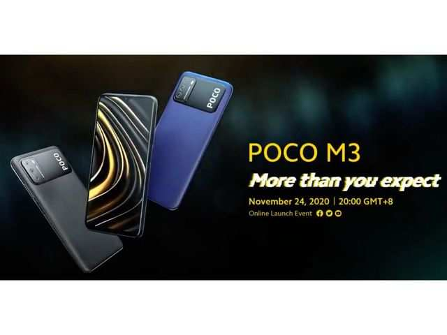 Poco M3 to offer 6000mAh battery, 6.53-inch display, confirms company