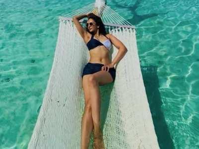 Rakul shares her bikini pics from Maldives
