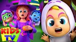 Nursery Rhymes in English: Children Video Song in English 'It's Halloween Night'
