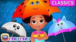 English Nursery Rhymes: Kids Video Song in English 'Rain Rain Go Away'