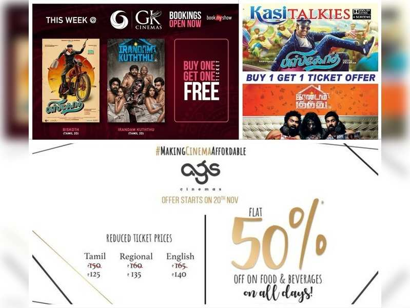 Buy 1 get 1 offers, F&B discounts: Here's how theatres are trying to lure audiences back to the big screen