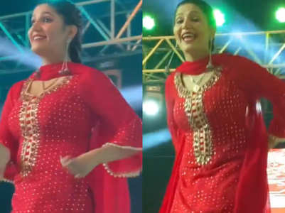 Sapna Choudhary returns to work; video