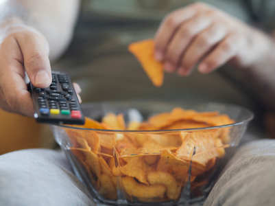 Weight loss: How to stop overeating in front of the television