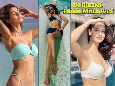 Photos: Divas flaunt their toned bods in bikini