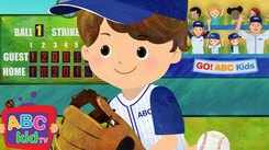 English Nursery Rhymes: Kids Video Song in English 'Take Me Out To The Ballgame'