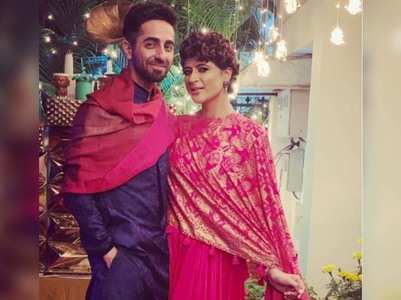 Tahira shares a post; Ayushmann comments