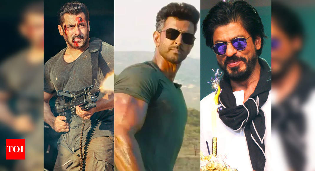 Will Salman Khan as 'Tiger' and Shah Rukh Khan as 'Pathan' join Hrithik Roshan in 'War' sequel? – Times of India