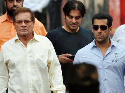 When Salim Khan took Salman's punishment