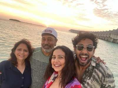Rakul bids adieu to Maldives with a selfie