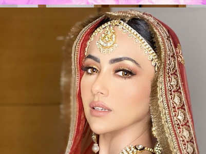 Sana Khan's gorgeous weddings pictures
