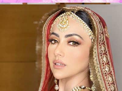 Sana Khan's gorgeous weddings pictures