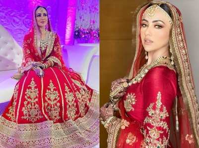 Sana Khan shares NEW wedding pictures