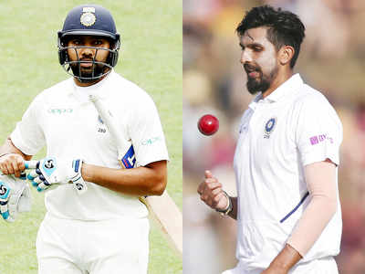 Rohit Sharma, Ishant Sharma set to miss Australia Test series