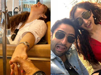 Shaheer engaged to gf Ruchikaa; pic