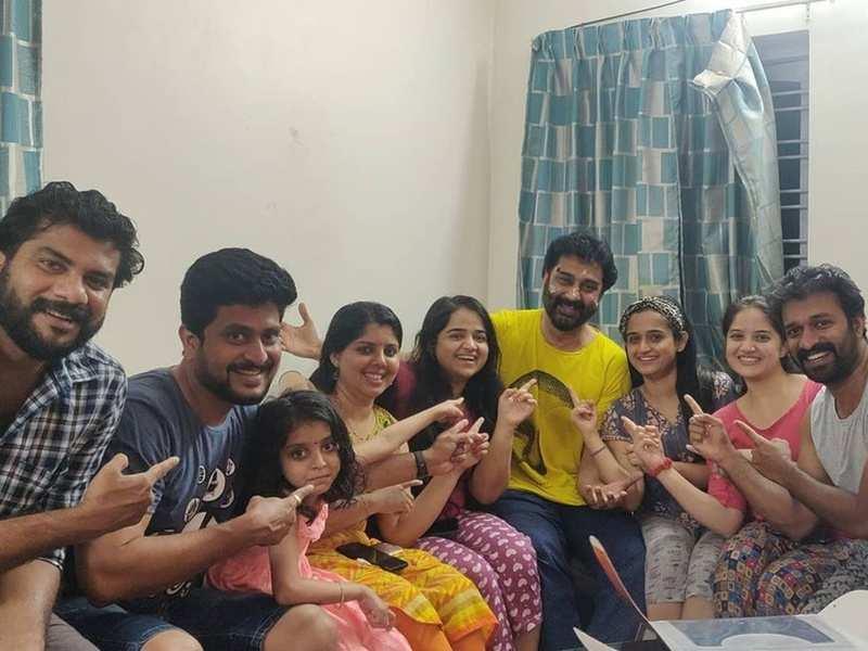 Team Santhwanam surprises big brother Rajeev Parameshwar on his birthday; watch video