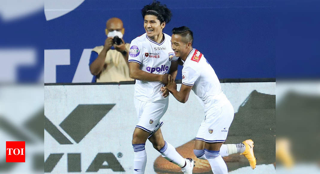 ISL: Anirudh Thapa's Indian feat in Chennaiyin FC's winning start | Football News – Times of India