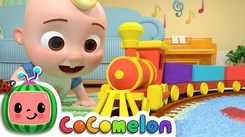English Nursery Rhymes: Kids Video Song in English 'Train'