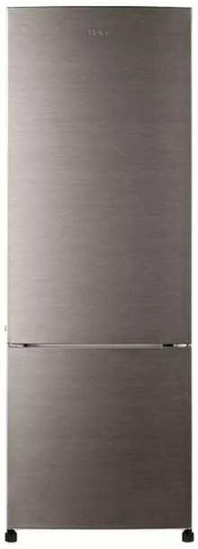 Haier 320 L 2 Star Inverter Frost-Free Bottom Mounted Refrigerator (HRB-3404BS-E, Brushline Silver)