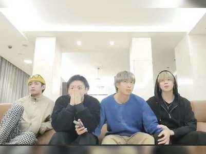 BTS reacts to their FIRST Grammy nomination