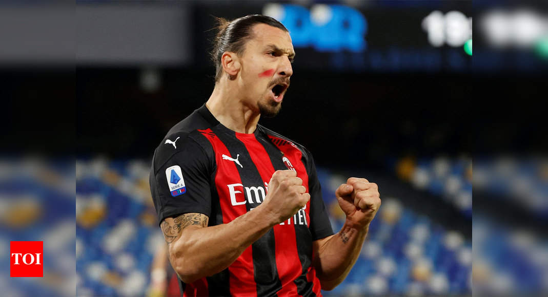 Zlatan Ibrahimovic wins 12th Golden Ball in Sweden, Magdalena Eriksson wins women's prize | Football News – Times of India