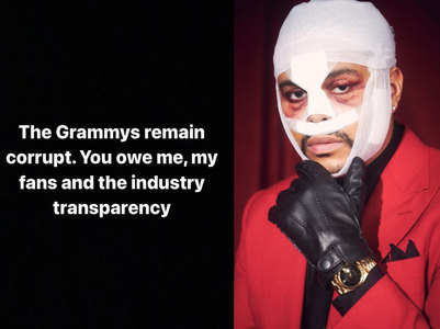 "The Weeknd calls Grammys ""corrupt"""