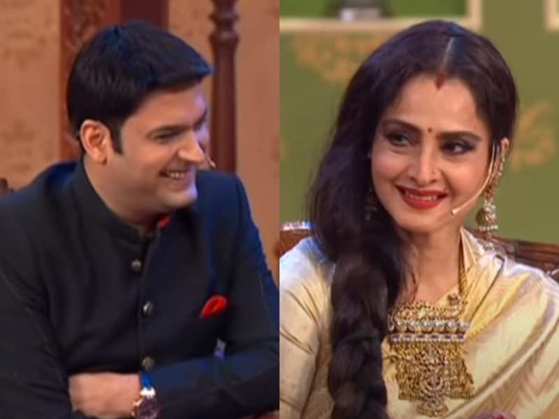 When Rekha pulled Kapil Sharma's leg for not watching any of her films, watch the comedian's hilarious reply