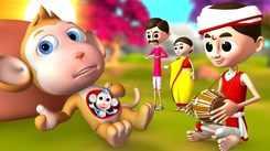 Most Popular Kids Short Stories In Hindi - गर्भिणी बंदर | Videos For Kids | Kids Cartoons | Cartoon Animation For Children