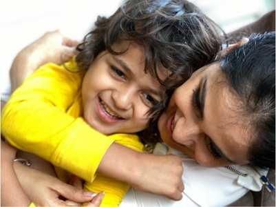 Genelia wishes son Riaan's on his B'day