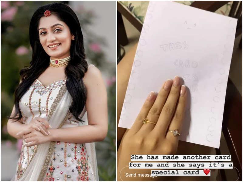 Daughter Roya's handwritten note leaves TV host Arya in tears