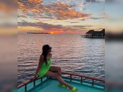 Sonakshi shares mesmerising sunset pics