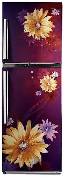 Voltas Beko 271 L 3 Star Inverter Frost-Free Double Door Refrigerator (RFF2953DWEF, Dahlia Wine)