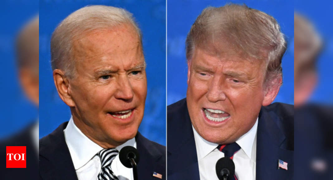 Trump refuses to accept Biden's win as transition proceeds – Times of India