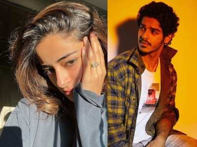 Ishaan drops a comment on Ananya's picture