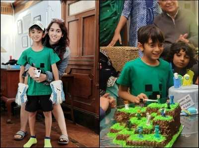 Ira Khan shares glimpse of Azad Khan's b'day