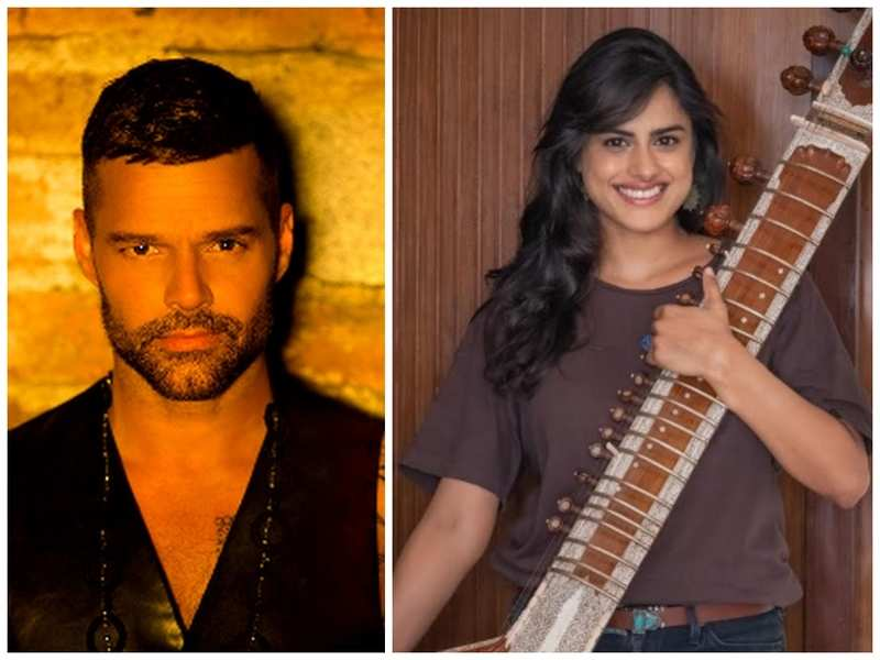 Ricky Martin and Neha Mahajan