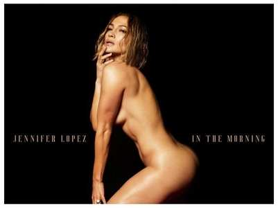 JLo goes nude for the cover of her new song