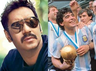 Ajay mourns the loss of Diego Maradona