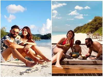 Celeb couples who opted for a beach vacay