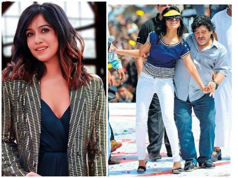 Ranjini Haridas remembers hosting an event attended by Maradona, says 'That day will forever be etched in my heart'