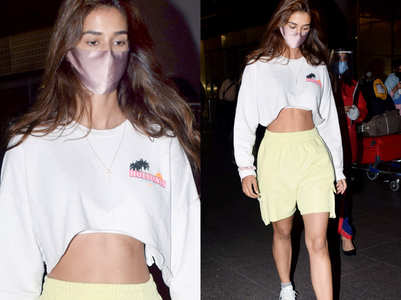 Disha Patani's airport look is so hot