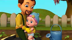 English Kids Poem: Nursery Song in English 'Johny Johny Yes Papa Don't Waste Water'