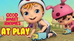 English Kids Poem: Nursery Song in English 'Kids At Play - Good Habit'