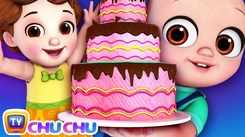 Nursery Rhymes in English: Children Video Song in English 'Pat A Cake - Cakes For Occasions'