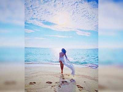 Photo: Tara Sutaria stuns in a white bikini