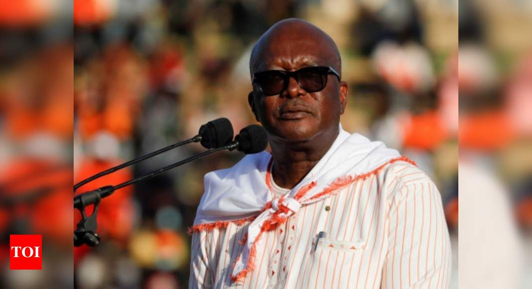 Burkina Faso president Roch Marc Christian Kabore re-elected – Occasions of India