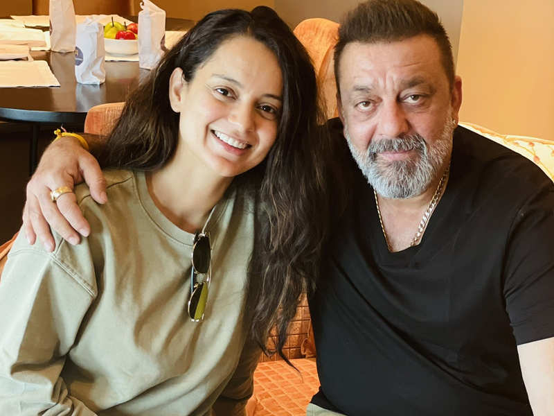 """Sanjay Dutt replies to Kangana Ranaut as she prays for his 'long life and good health', says, """"Thank you for all your love"""""""