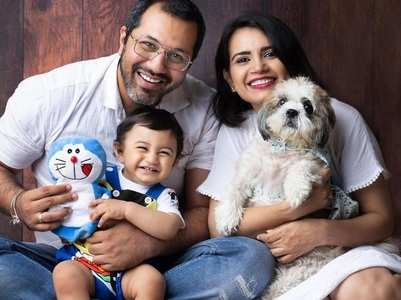 Priya Ahuja's son turns one; see pics